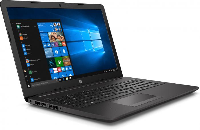 """Laptop HP 255 G7, 15.6"""", AMD Athlon (pana la 3.3 GHz), 8 GB DDR4, 256 GB SSD, Windows 10 Pro, Grey Silver [2]"""