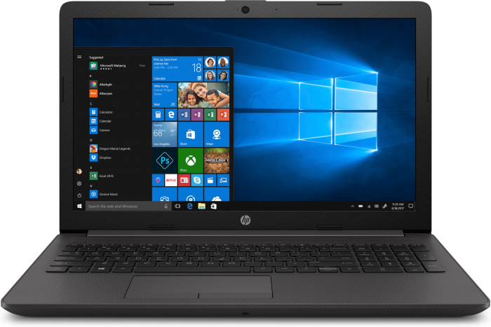 "Laptop HP 255 G7, 15.6"", AMD Ryzen 3 3200U (pana la 3.5 GHz), 8 GB DDR4, 256 GB SSD, Windows 10 Home, Black [0]"