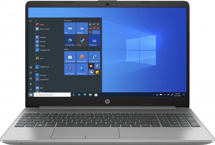 """Laptop HP 255 G8, 15.6"""", AMD Athlon 3050U (pana la 3.2 GHz), 8 GB DDR4, 256 GB SSD, Windows 10 Home, Silver [0]"""