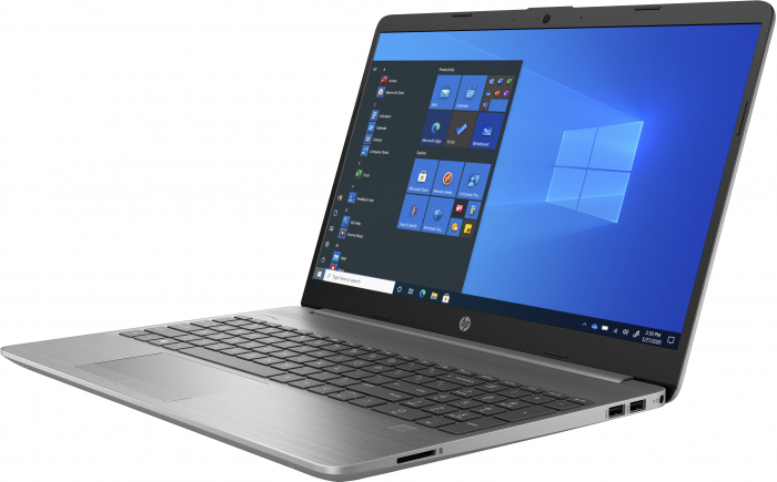 """Laptop HP 255 G8, 15.6"""", AMD Athlon 3050U (pana la 3.2 GHz), 8 GB DDR4, 256 GB SSD, Windows 10 Home, Silver [1]"""