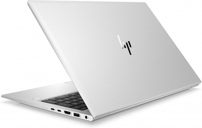 "Laptop HP EliteBook 850 G8, 15.6"" Full HD, i5 1135G7 (pana 4.2 GHz), 16 GB RAM, 512 GB SSD, Windows 10 Pro, Silver [4]"