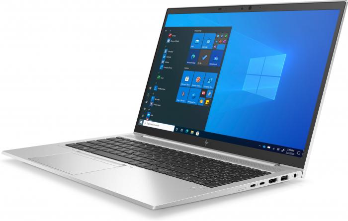 "Laptop HP EliteBook 850 G8, 15.6"" Full HD, i5 1135G7 (pana 4.2 GHz), 16 GB RAM, 512 GB SSD, Windows 10 Pro, Silver [1]"