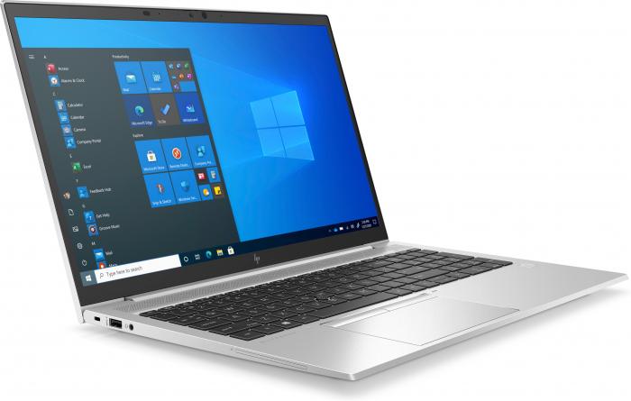 "Laptop HP EliteBook 850 G8, 15.6"" Full HD, i5 1135G7 (pana 4.2 GHz), 16 GB RAM, 512 GB SSD, Windows 10 Pro, Silver [2]"