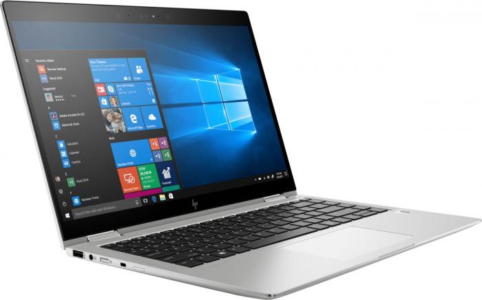 "Laptop HP EliteBook x360, 14"" Full HD Hybrid (2in1), i5 8250U (pana la 3.4 GHz), 16 GB RAM, 512 GB SSD, Windows 10 Pro [2]"