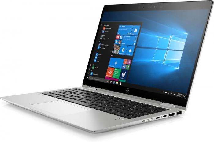"Laptop HP EliteBook x360, 14"" Full HD Hybrid (2in1), i5 8250U (pana la 3.4 GHz), 16 GB RAM, 512 GB SSD, Windows 10 Pro [1]"
