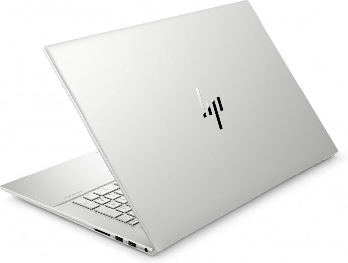 "Laptop HP Envy, 17.3"" Full HD Gorilla Glass, i5 1135G7 (pana la 4.2 GHz), 16 GB RAM, 512 GB SSD, NVIDIA® GeForce MX450 2GB, Windows 10 Home, Silver [4]"