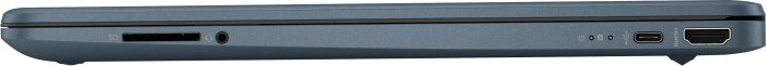 "Laptop HP HexaCore, 15.6"", AMD Ryzen 5 5500U (pana la 4 GHz), 8 GB DDR4, 512 GB SSD, Radeon RX Vega 7, Wndows 10 Home, Spruce Blue [4]"