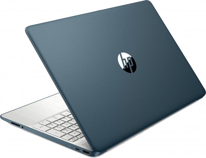 "Laptop HP HexaCore, 15.6"", AMD Ryzen 5 5500U (pana la 4 GHz), 8 GB DDR4, 512 GB SSD, Radeon RX Vega 7, Wndows 10 Home, Spruce Blue [5]"