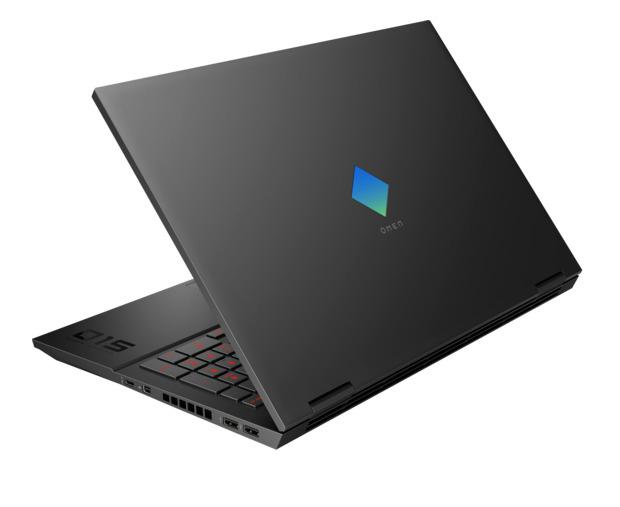 "Laptop HP Omen, 15.6"" Full HD, i5 10300H (pana la 4.5 GHz), 16 GB RAM, 512 GB SSD, NVIDIA® GeForce RTX™ 2060 6 GB, Free DOS, Black [2]"