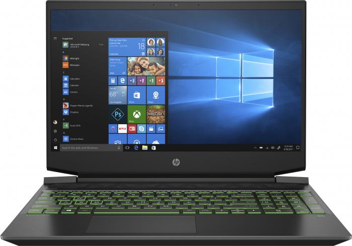 "Laptop HP Pavilion, 15.6"" Full HD, Ryzen 5 5600H (pana la 4.2 GHz), 8 GB RAM, 512 GB SSD, NVIDIA® GeForce RTX™ 3050 Ti 4GB, Windows 10 Home, Black [0]"