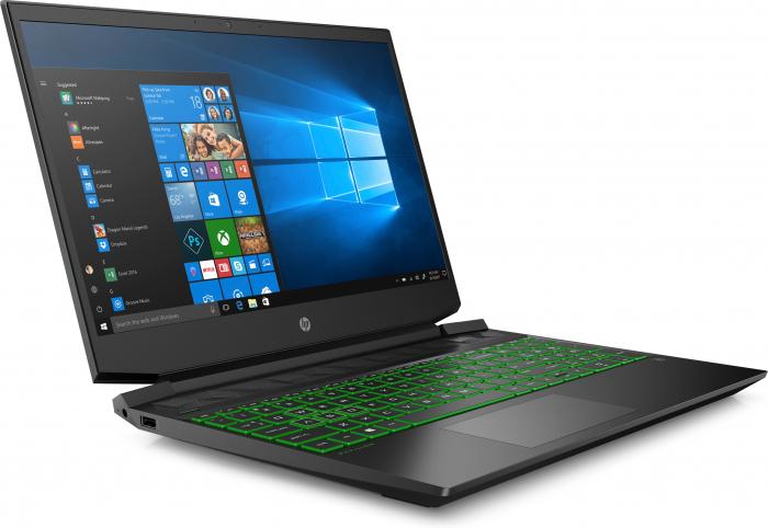 "Laptop HP Pavilion, 15.6"" Full HD, Ryzen 5 5600H (pana la 4.2 GHz), 8 GB RAM, 512 GB SSD, NVIDIA® GeForce RTX™ 3050 Ti 4GB, Windows 10 Home, Black [2]"