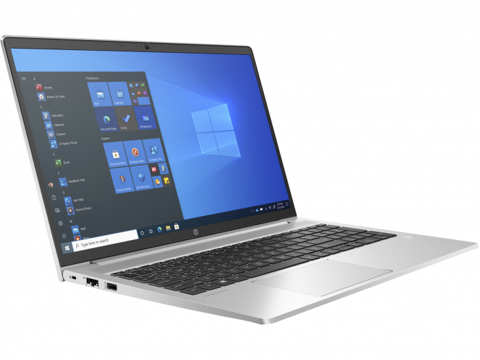 """Laptop HP ProBook 450 G8, 15.6"""" Full HD, i7 1165G7 (pana la 4.7 GHz), 8 GB RAM, 256 GB SSD, NVIDIA® GeForce MX450 2GB, Windows 10 Pro, Silver [3]"""