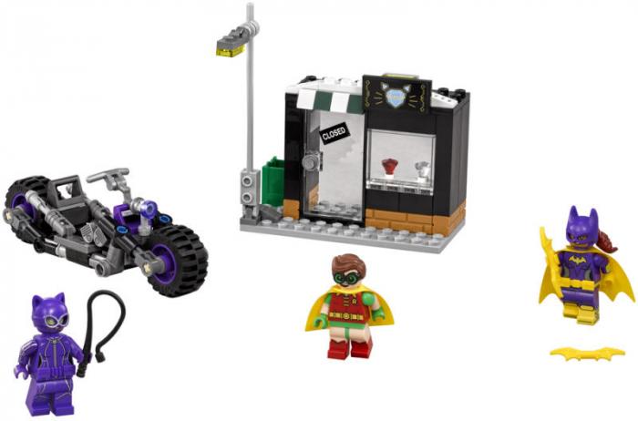 LEGO® BATMAN™ Catwoman™ si urmarirea in Catcycle 70902 [0]