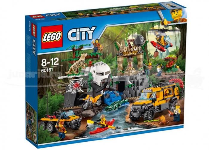 LEGO® City Amplasamentul de explorare din jungla 60161 [0]