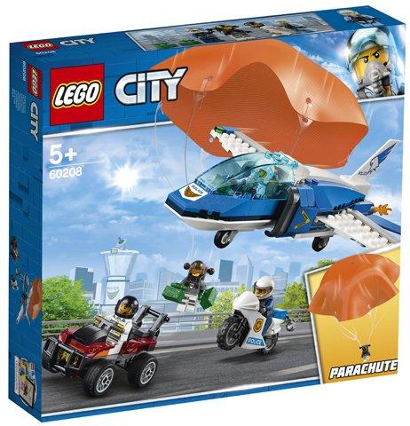 LEGO® City: Arest cu parașutiști al poliției aeriene 60208 [0]