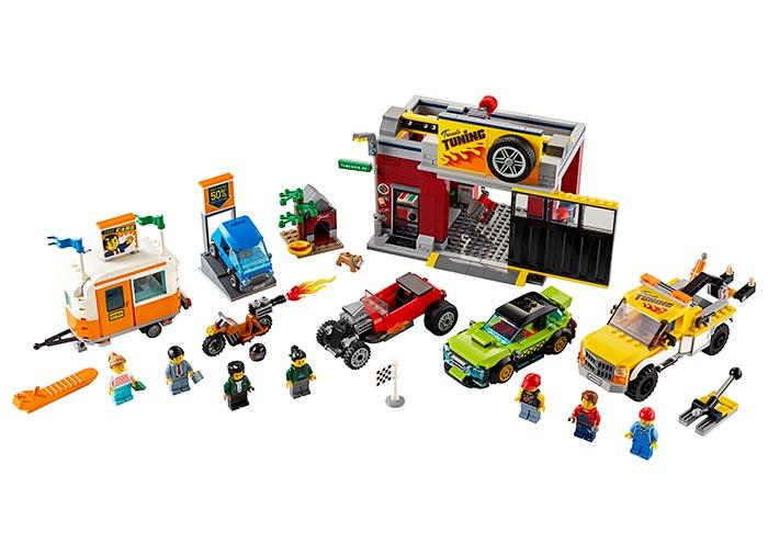 LEGO® City: Atelier de tuning 60258 0