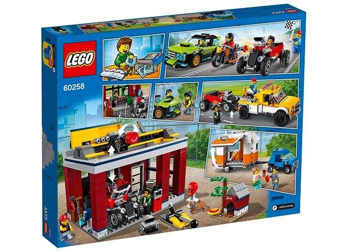 LEGO® City: Atelier de tuning 60258 1