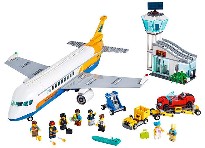 LEGO® City: Avion de pasageri 60262 [0]