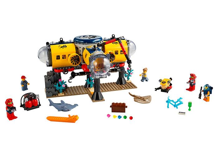LEGO® City: Baza de explorare a oceanului 60265 [0]