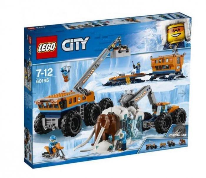 LEGO® City  Baza mobila de explorare arctica 60195 4