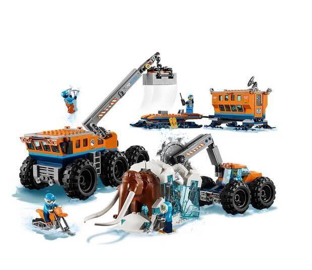 LEGO® City  Baza mobila de explorare arctica 60195 9