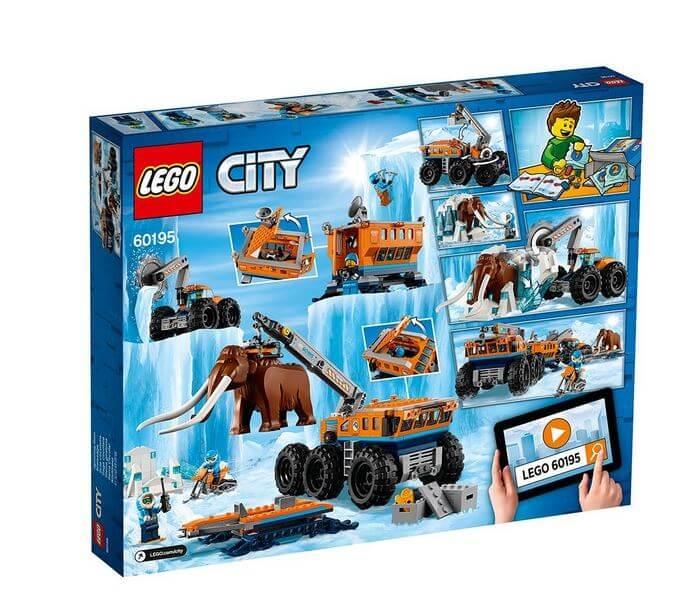 LEGO® City  Baza mobila de explorare arctica 60195 6