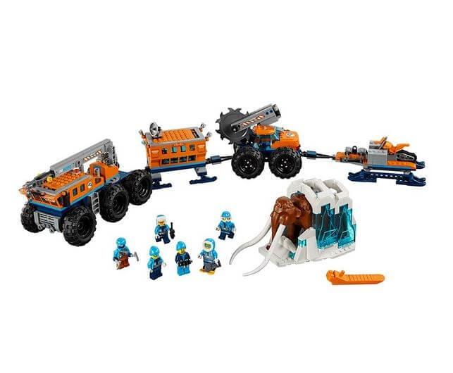 LEGO® City  Baza mobila de explorare arctica 60195 7
