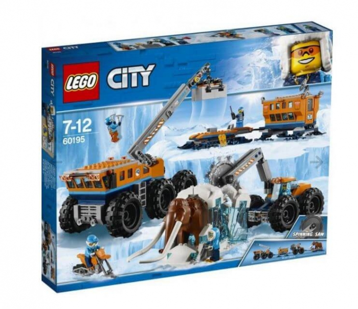 LEGO® City  Baza mobila de explorare arctica 60195 0
