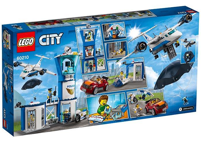 LEGO® City: Baza poliției aeriene 60210 1