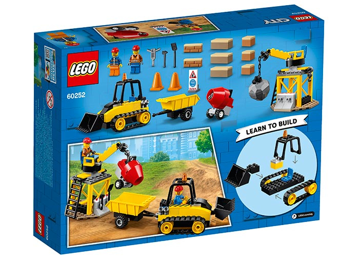 LEGO® City: Buldozer pentru constructii 60252 1