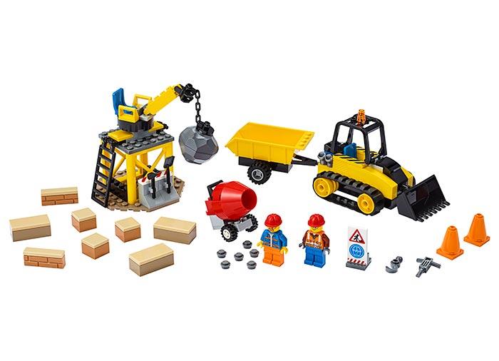 LEGO® City: Buldozer pentru constructii 60252 0