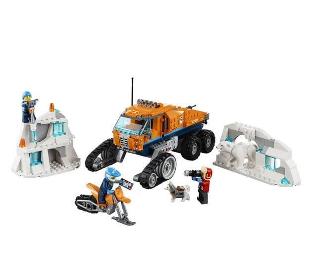 LEGO® City  Camion arctic de cercetare 60194 6