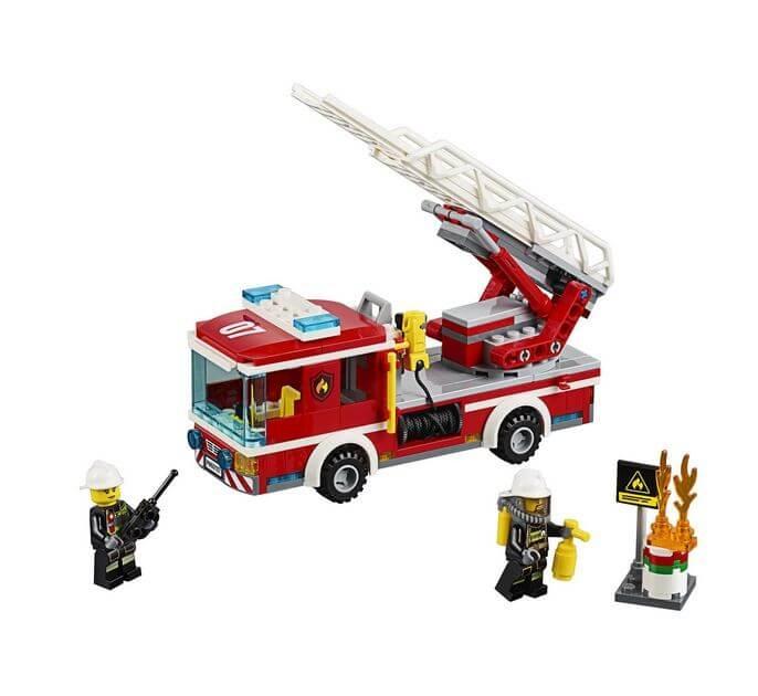 LEGO® City Camion de pompieri cu scara 60107 2