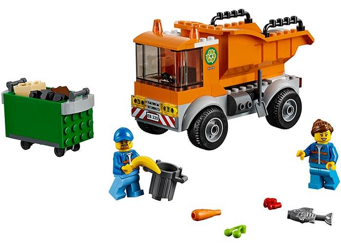 LEGO® City: Camion pentru gunoi 60220 0