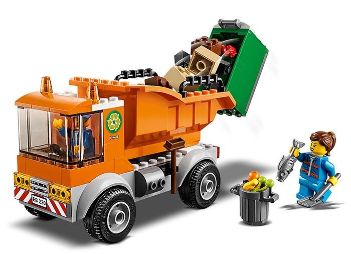 LEGO® City: Camion pentru gunoi 60220 2