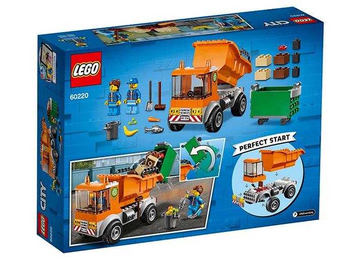 LEGO® City: Camion pentru gunoi 60220 1