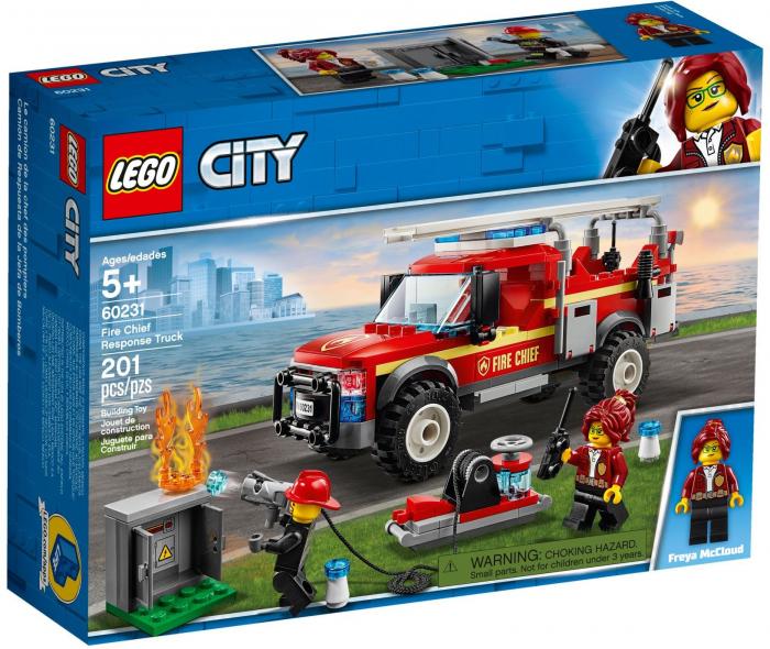 LEGO® City : Camionul de interventie al comandantului pompierilor 60231 [0]