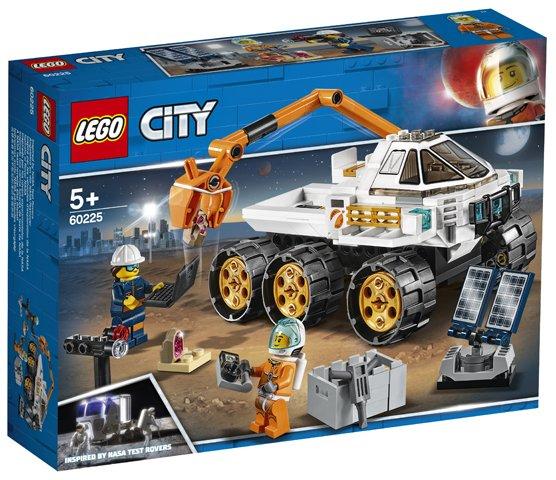 LEGO® City : Cursa de testare pentru Rover 60225 [0]