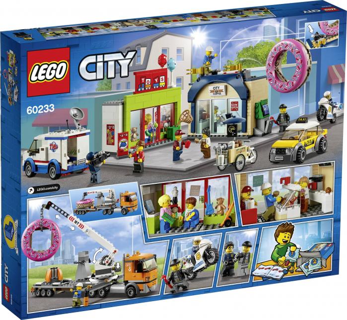 LEGO® City : Deschiderea magazinului de gogosi 60233 0