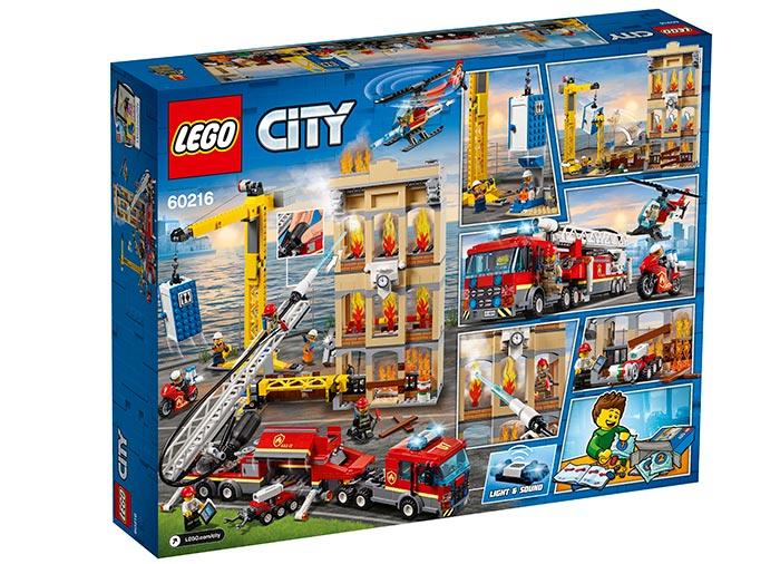LEGO® City: Divizia pompierilor din centrul orașului 60216 [1]