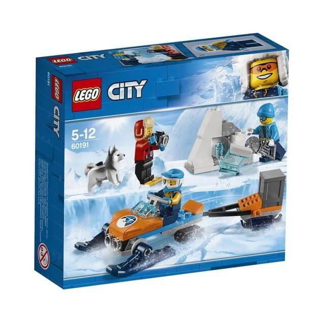 LEGO® City  Echipa arctica de explorare 60191 0