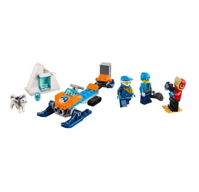 LEGO® City  Echipa arctica de explorare 60191 4