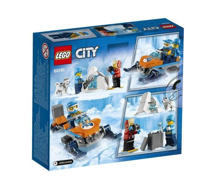 LEGO® City  Echipa arctica de explorare 60191 7