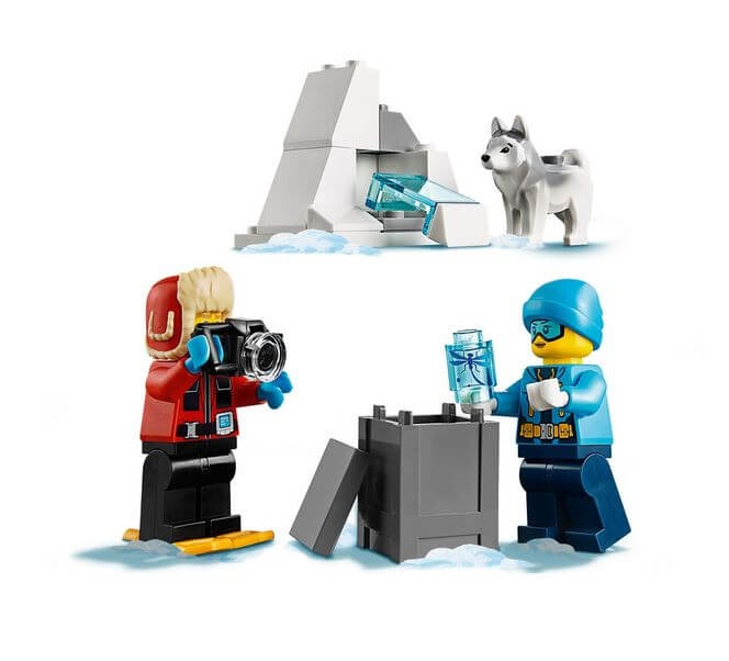 LEGO® City  Echipa arctica de explorare 60191 5