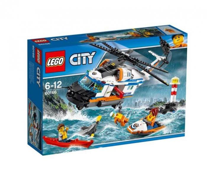 LEGO® City Elicopter de salvare pentru conditii grele 60166 0