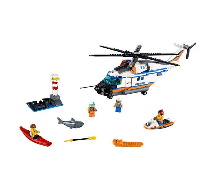 LEGO® City Elicopter de salvare pentru conditii grele 60166 1