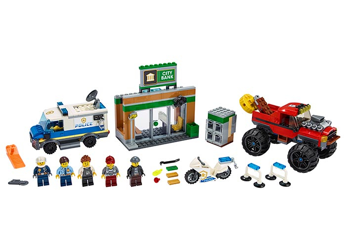 LEGO® City: Furtul cu Monster Truck 60245 [0]