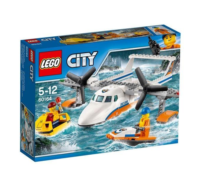 LEGO® City Great Vehicles Avion de salvare pe mare 60164 0