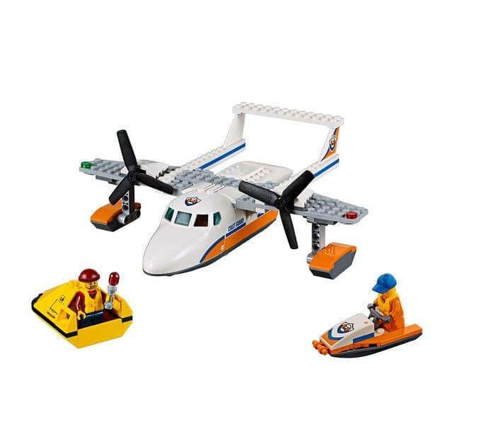 LEGO® City Great Vehicles Avion de salvare pe mare 60164 1