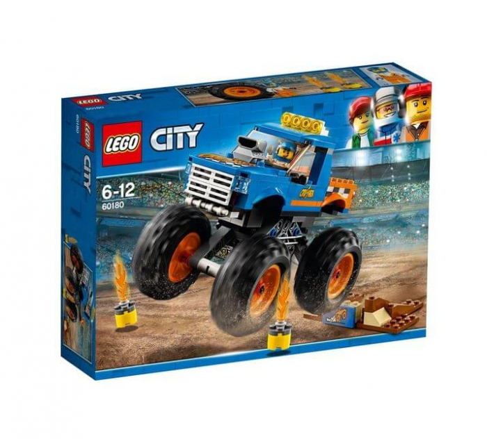 LEGO® City Great Vehicles Camion gigant 60180 0